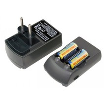 Lader voor CR123A inc 2 x CR-V123