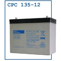 Cellpower AGM Accu CPC 12V 135Ah