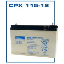 Cellpower 12 volt 115 Ah CPX