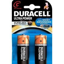 LR14 C MN1400 Duracell Ultra Power 2 stuks
