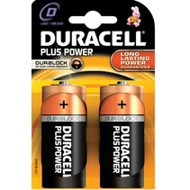 LR20 - D mono Plus Power blister 2 - Duracell