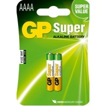 GP AAAA Super alkaline 2 stuks