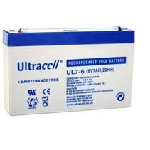 6V, 7 Ah Loodaccu UltraCell UL7-6