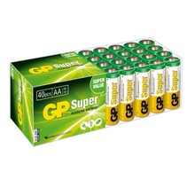 GP 40 x AA penlite Super Alkaline