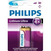 Philips 9V Lithium 6FR61