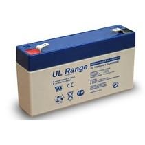 6v, 1,3 Ah Loodaccu Ultracell UL1.3-6