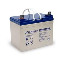 12V, 35 Ah Gel accu UltraCell UCG35-12
