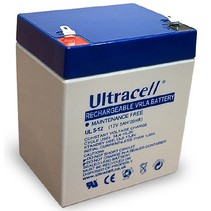 12V, 5 Ah Loodaccu UltraCell UL5-12