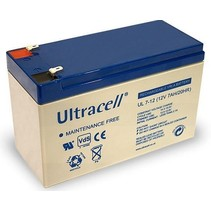 12V, 7 Ah Loodaccu UltraCell UL7-12