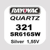 321 horloge Batterij SR616 SW Rayovac
