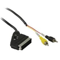 SCART Kabel SCART Male - 2x RCA Male 2.00 m Zwart