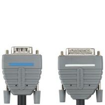 DVI Kabel DVI-A 12+5-Pins Male - VGA Male 2.00 m Blauw
