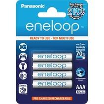 Oplaadbare AAA batterijen 750 mAh 4 stuks Eneloop