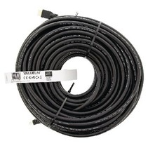 High Speed HDMI kabel met Ethernet HDMI-Connector - HDMI-Connector 30.0 m Zwart