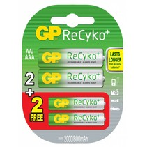 ReCyKo+ promo 2 x AA en 2 x AAA