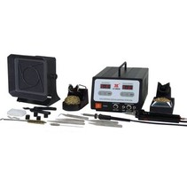 Soldeer en de-soldeerstation 100 W CH <SteckerCH/><multisep/>F (CEE 7/4)