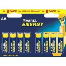 8 x AA Penlite LR6 Varta Energy