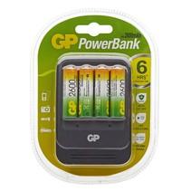 Powerbank PB570 Lader inc 4 x 2600mAH AA