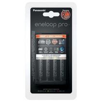 Batterij 2uurs lader Eneloop PRO BQ-CC55E + 4 x AA Pro