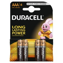 4 x AAA Mini penlite Duracell