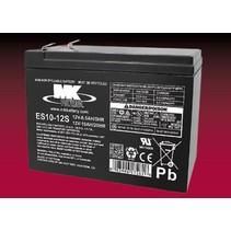 10 Ah,  12 Volt AGM Accu ES10-12S MK Battery