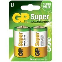 D  Batterij Super Alkaline GP 2 stuks