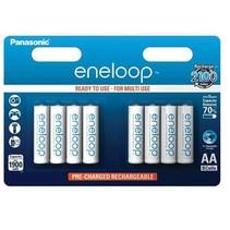 Oplaadbare AA batterijen 1900 mAh 8 stuks Eneloop
