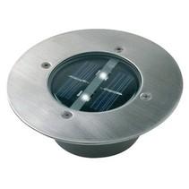 Solar Grondspot 2 LED Rond