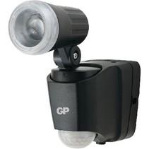 LED WandLamp voor Buiten met Sensor 50 lm Zwart
