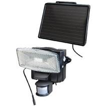 Solar Wandlamp 8 LED Zwart
