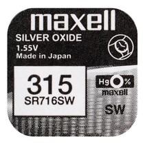 SR716SW  Horloge batterij 315 - 314 Maxell
