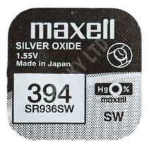 SR936W Horloge Batterij 394- 380  Maxell