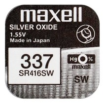 SR416SW  horloge batterij 337 Maxell
