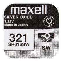SR616SW  horloge Batterij 321 Maxell