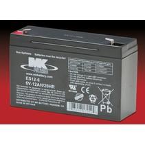 6V, 12 Ah Loodaccu MK Battery