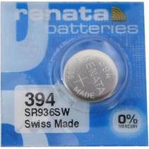 SR936SW Horloge Batterij 394 Renata