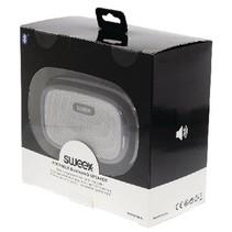 Bluetooth-Speaker Mono 4 W Ingebouwde Microfoon Zwart/Zilver