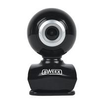 Webcam USB 0.3 MPixel SD Kunststof Zwart/Zilver