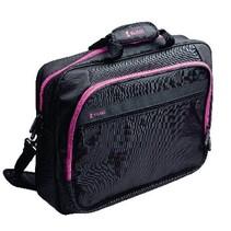 """Laptop Tas 17-18"""" Polyester Zwart/Roze"""