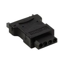 SATA-Adapter SATA 15-Pins Male - Molex Female Zwart