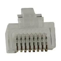 Connector RJ45 Stranded UTP CAT5 Male PVC Transparant