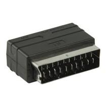 SCART-Adapter SCART Male - 3x RCA Female Zwart