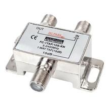 Satelliet Splitter F-Splitter Satelliet 10 dB / 5-2400 MHz - 1 Uitgang