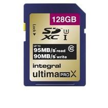 SDXC Geheugenkaart Klasse 10 / UHS-I 128 GB