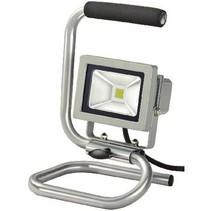 Mobiele LED Floodlight 10 W 700 lm Grijs