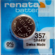 357 Horloge Batterij SR44W Renata