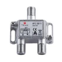 CATV-Splitter 2 dB / 5-1218 MHz - 1 Uitgang