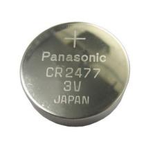 CR2477 lithium knoopcel batterij 3V Panasonic