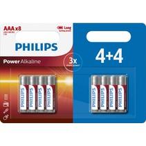 AAA Mini penlite 8 x batterijen Power Alkaline