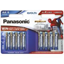 8 x AA Penlite  batterijen Evolta